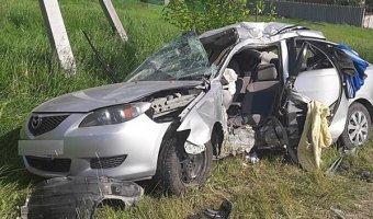 В Тихорецком районе по вине пьяного водителя в ДТП погибла женщина
