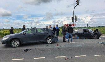 В массовом ДТП в Ленобласти пострадал человек