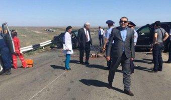Пять человек погибли в ДТП на трассе «Атырау – Астрахань»