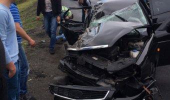 Пассажир «Приоры» погиб в ДТП на трассе «Скандинавия»