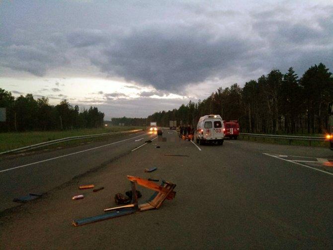 Мотоциклист погиб в ДТП, не уступив дорогу иномарке, в Тулунском районе (1).jpg