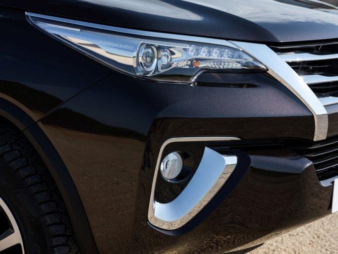 Toyota Fortuner свет