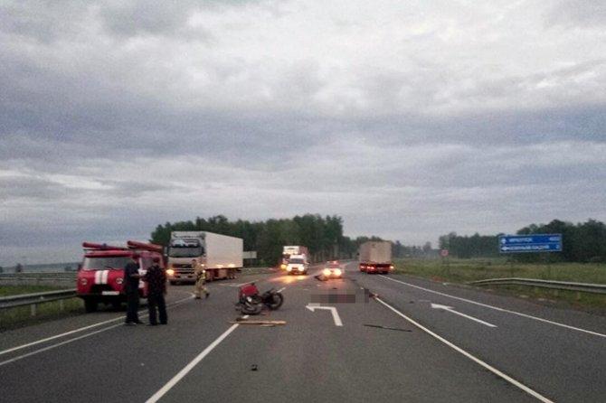 Мотоциклист погиб в ДТП, не уступив дорогу иномарке, в Тулунском районе (2).jpg