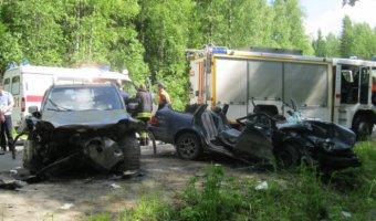 Двое детей и трое взрослых пострадали в ДТП под Петрозаводском