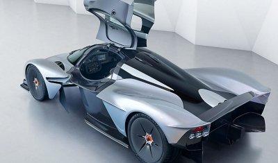 Aston Martin представили предсерийный гиперкар Valkyrie
