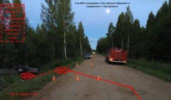 Молодой водитель погиб в опрокинувшемся УАЗе в Калужской области