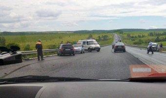 Трое детей пострадали в лобовом ДТП в Вольском районе Саратовской области
