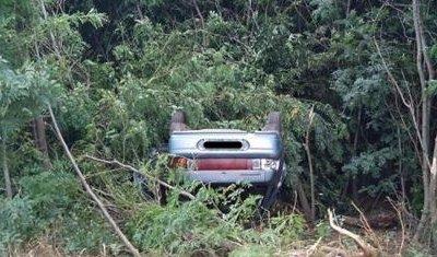 На Кубани в опрокинувшейся по вине пьяного водителя машине погиб пассажир