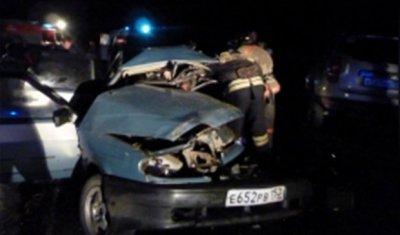 В ДТП под Нижним Новгородом погибли пять человек, включая ребенка