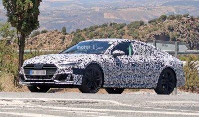 Спортивная версия Audi 7 проходит испытания