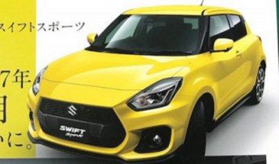 В Сеть выложили фото брошюру новой Suzuki Swift Sport