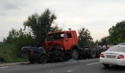 На трассе Алматы — Астана ДТП с легковушкой и