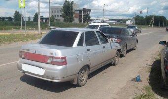 Водитель «Богдан-2110» врезался в