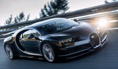 Следующий гиперкар Bugatti электрофицируют