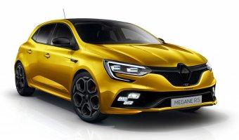 Новый Renault Megane R.S 2018 тестируется в Германии