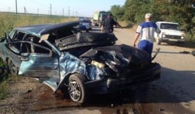 Три человека погибли в ДТП в Прохладненском районе КБР