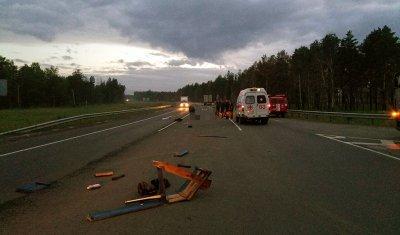 Мотоциклист погиб в ДТП, не уступив дорогу иномарке, в Тулунском районе
