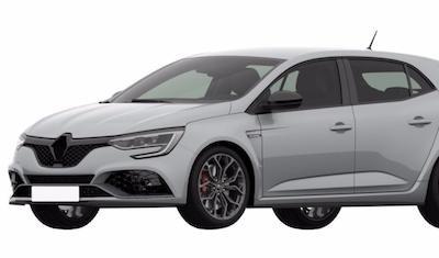 Появились патентные изображения нового Renault Megane RS 2018