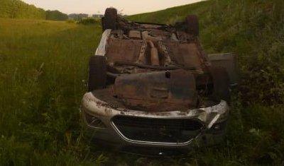 В Татарстане иномарка вылетела с трассы: погиб человек