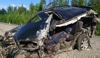 На трассе Тюмень – Ханты-Мансийск в ДТП с фурой погиб человек