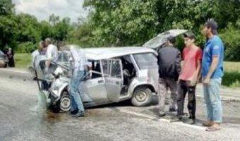В Ингушетии в ДТП один человек погиб, пятеро пострадали