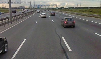 На КАД в районе развязки с Московским шоссе перекроют две полосы движения