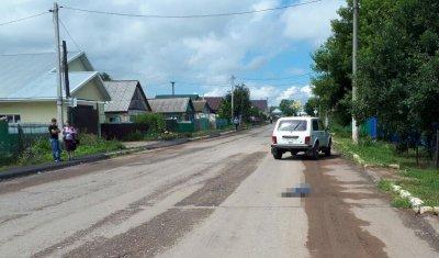 В Башкирии грузовик насмерть сбил 4-летнего мальчика и скрылся