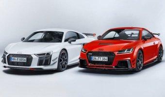 Audi представили пакет дополнений Sport Performance Parts для спорткаров TT RS и R8