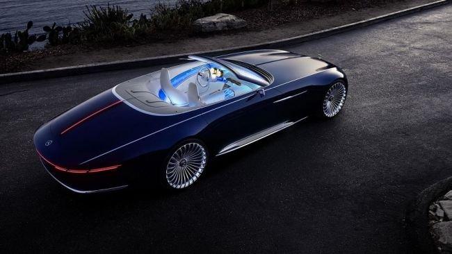 Mercedes-Maybach 6 Cabriolet.