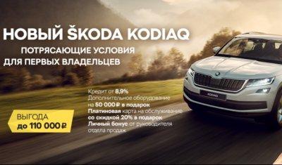Новый ŠKODA Kodiaq: внедорожник на каждый день!
