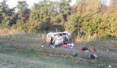 Многодетная семья попала в ДТП под Воронежем: погибли мальчик и девочка
