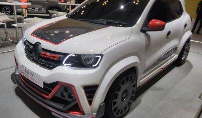 «Зверь-машина»: экстремальный тюнинг Renault Kwid