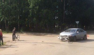 В Сыктывкаре в ДТП пострадала семилетняя девочка