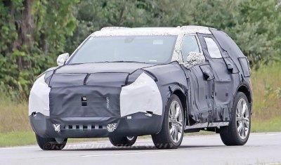 Новый Chevrolet Blazer выйдет в 2018 году