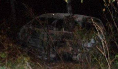 В Приморье водитель иномарки сгорел в машине
