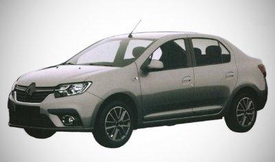 Появились фото новых российских версий Logan и Sandero от Renault