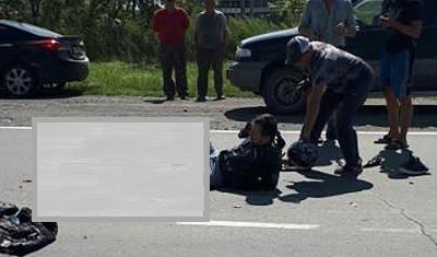 Мотоциклисту оторвало ногу в ДТП в Находке