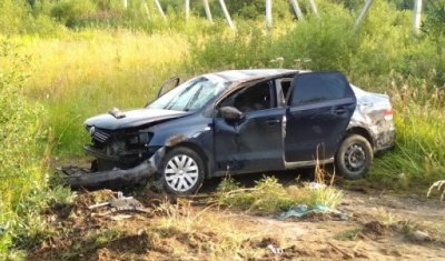 Водитель иномарки погиб при попытке обгона в Череповецком районе