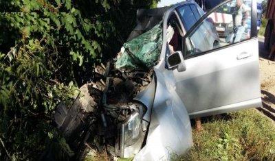 В Белореченском районе в ДТП с КамАЗом погиб пассажир легковушки