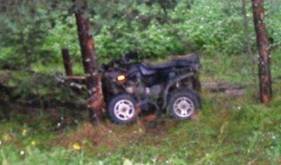 В Усть-Вымском районе в ДТП погиб водитель квадроцикла