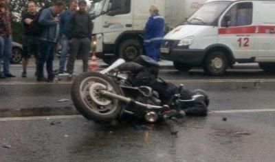 Мотоциклист с пассажиром погибли в ДТП в Гатчинском районе Ленобласти