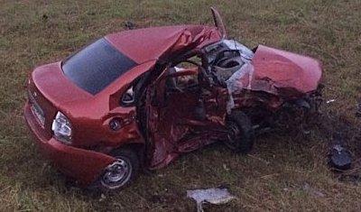 Водитель «Калины» погиб в ДТП в Белебеевском районе Башкирии