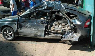 В Энгельсе в массовом ДТП погиб водитель «Приоры»