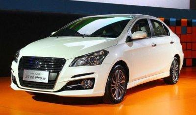 Suzuki показали обновленный седан Alivio Pro в Китае