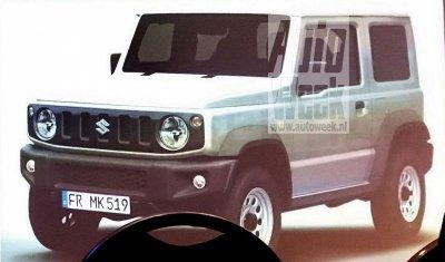 Новый Suzuki Jimny показался на фотографиях