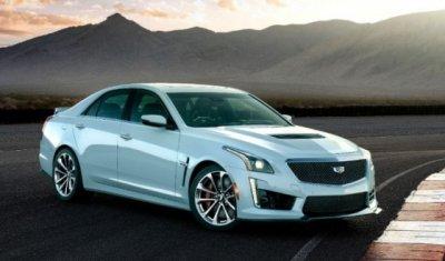 Cadillac представил юбилейную версию седана CTS-V в честь своего 115-летния