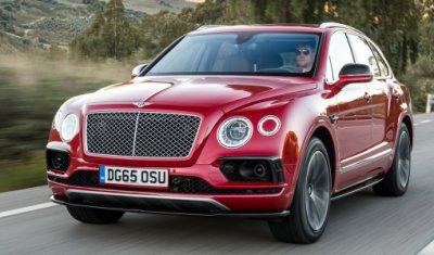 Премиальный кроссовер Bentley Bentayga – спрос есть!