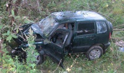 В Ивановской области водитель «Нивы» погиб, врезавшись в дерево