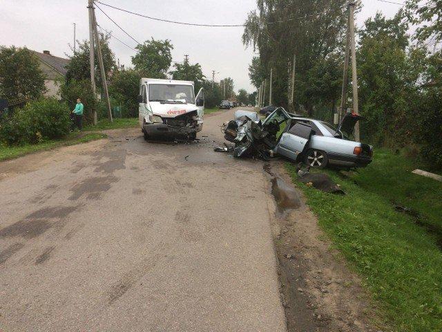 Водитель Audi погиб в лобовом ДТП в Калининградской области (1).jpg