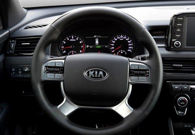 Новый KIA Sorento Prime - руль
